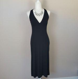 Banana Republic - Black Halter Dress